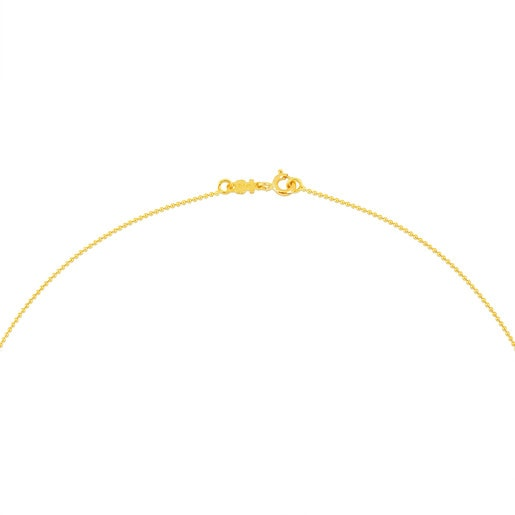 40 cm Gold TOUS Chain Choker with balls.