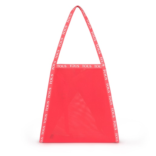 Fluorescent Pink T Colors Collection Shopping Bag
