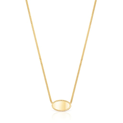 Gold Minne Necklace