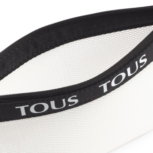 Medium White T Colors Toiletry Bag