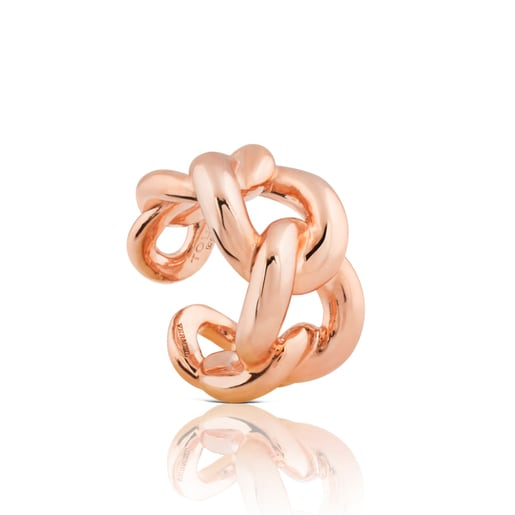 Rose Vermeil Silver Sweet Dolls Ring