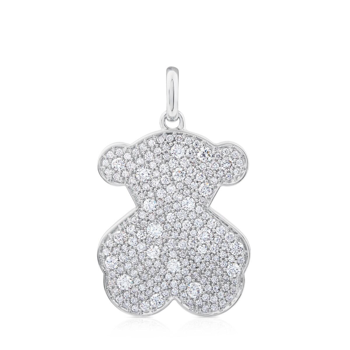 40a082266c88 Colgante Icon Gems de Oro blanco con Diamantes - Sitio web Tous España
