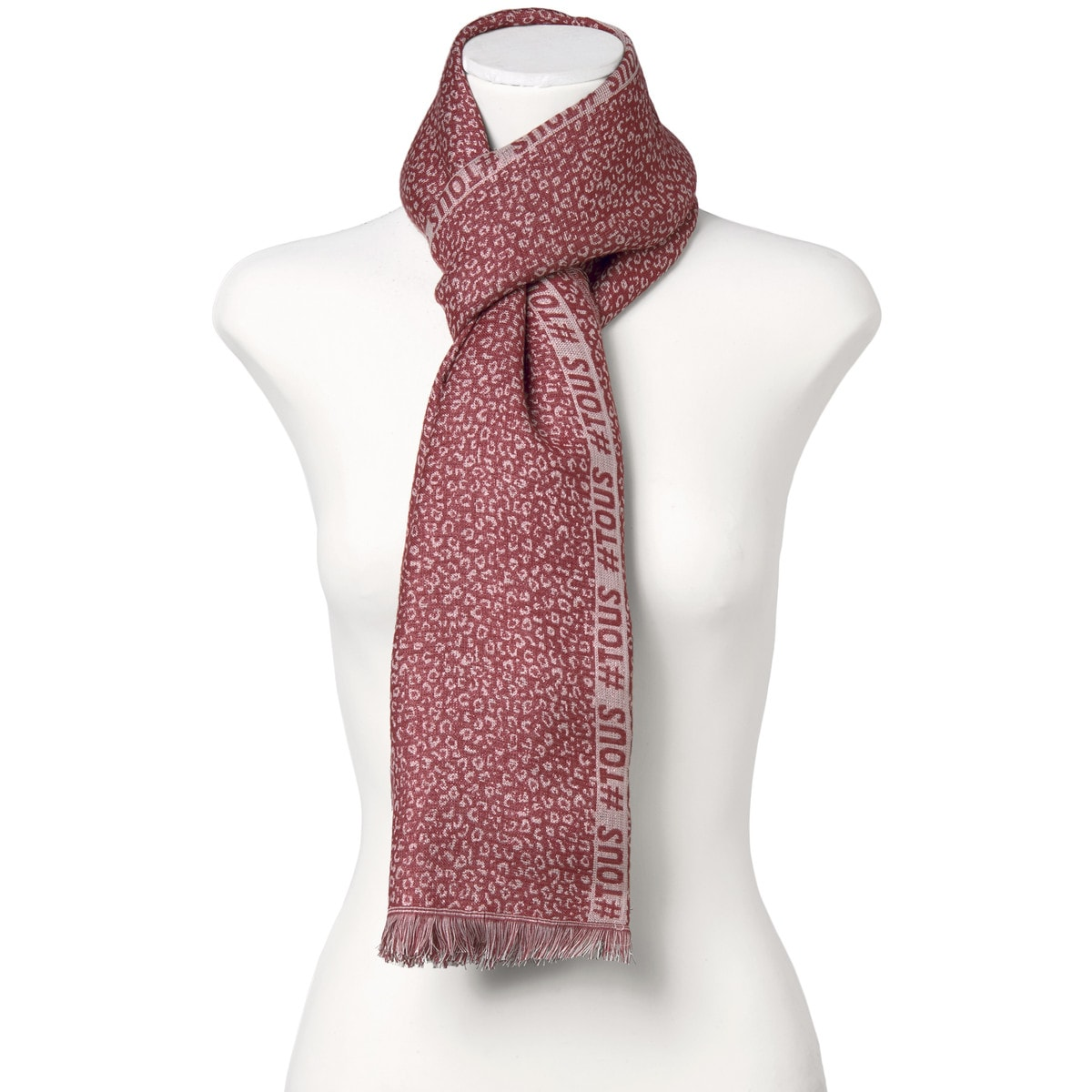 style de la mode de 2019 vente la moins chère beaucoup à la mode Terracotta Colet Leo Jacquard foulard