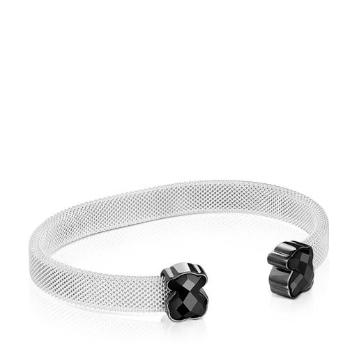 Mesh Color Bracelet with Onyx