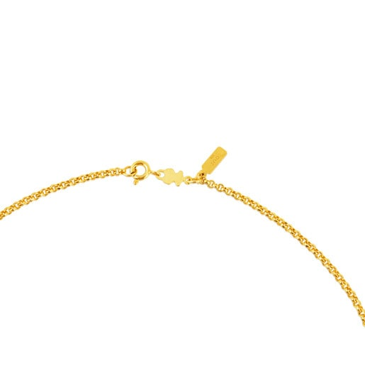 Cadena mediana TOUS Chain de Plata vermeil de bolas, 50cm.