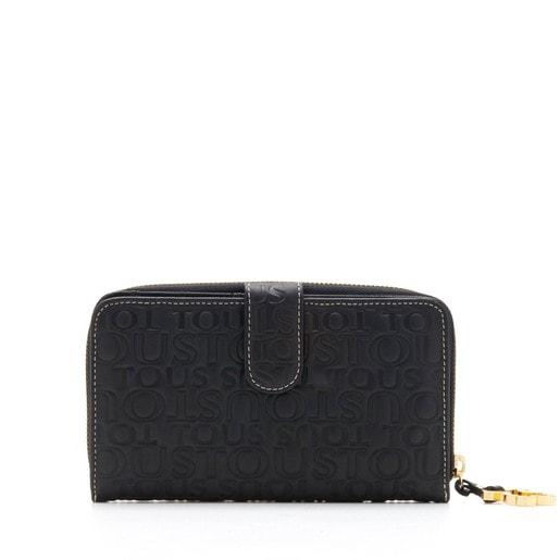 Leather Urbana Logo change purse