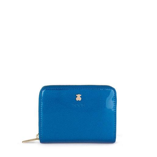 Billetero pequeño Dorp azul