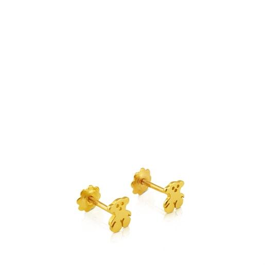 Pendientes Baby TOUS de Oro motivo oso 0,5cm.