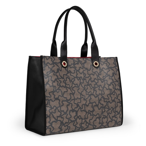 Sac shopping Amaya Kaos Icon grand multicolore et noir