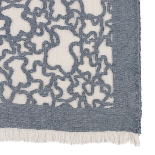 Foulard Kaos en color jeans