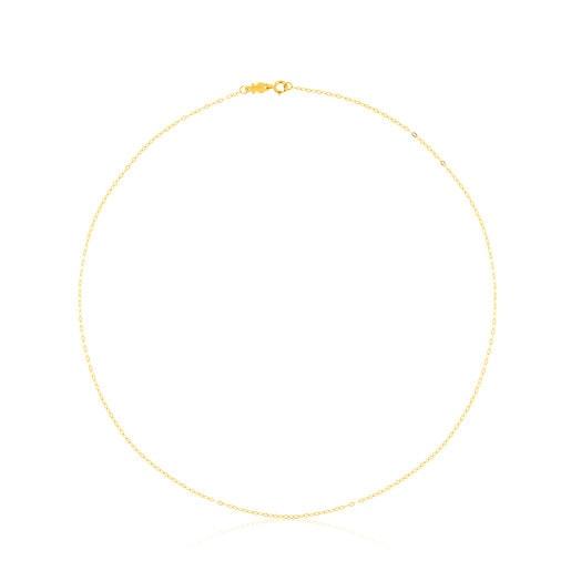 Gargantilla de oro con anillas ovales, 40cm TOUS Chain