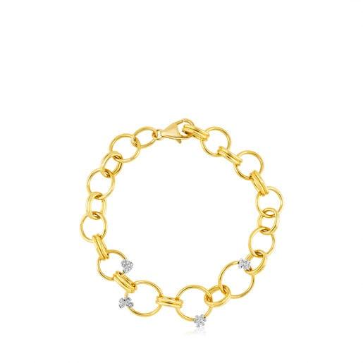 Bracelet Motif en Or