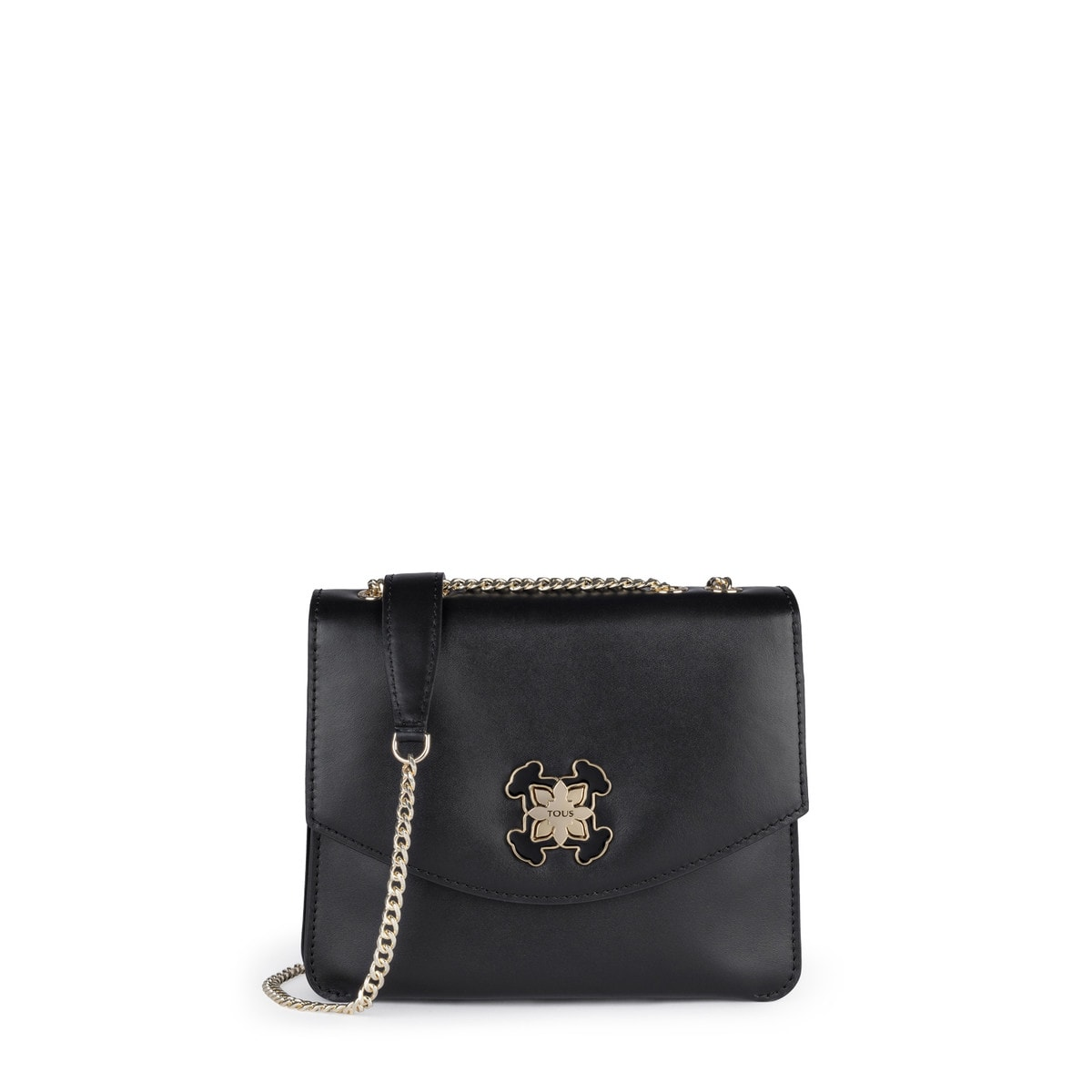 96080a80d7b Small black Leather Liz Crossbody bag