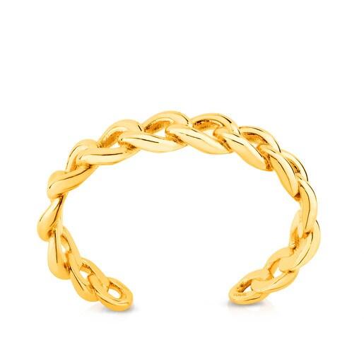 Vermeil Silver Eslabones Bracelet