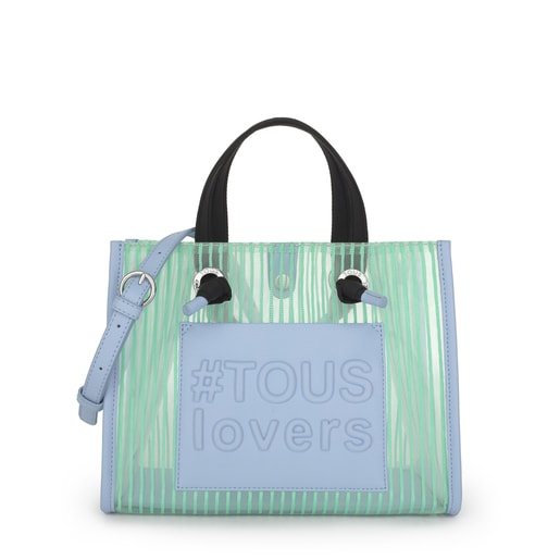 Medium Mint Green Amaya Shopping Bag