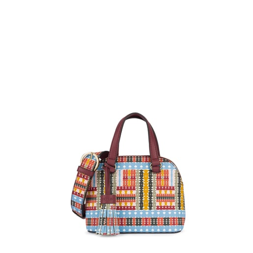 Mini multi-burgundy Alicya Bowling bag