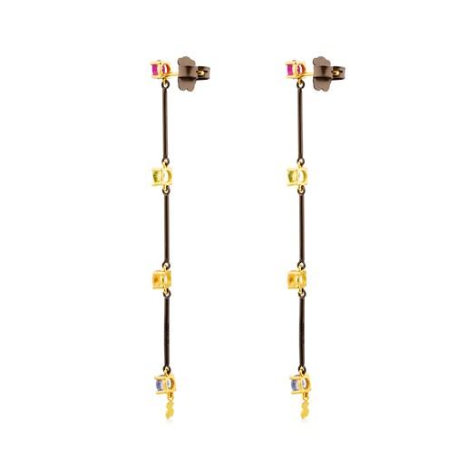 Ohrringe Mix Titanio aus Gold und Titan