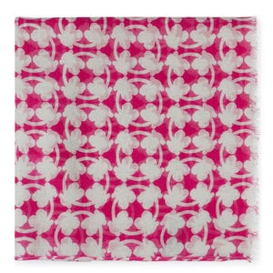 Foulard New Circle Bear en color fucsia