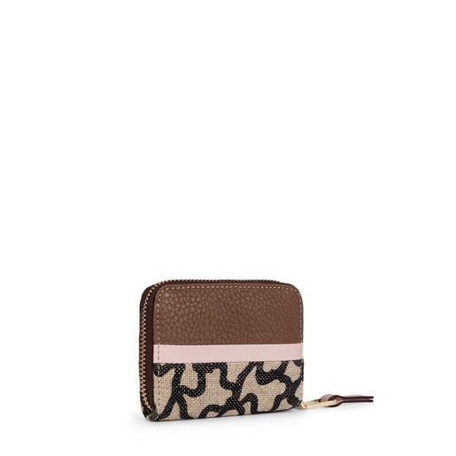 Brown-pink Elice New Change purse