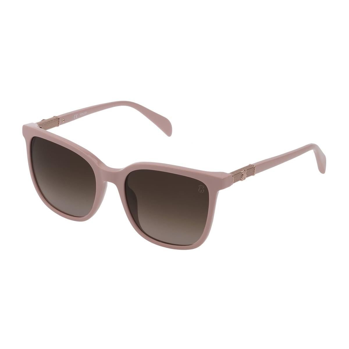 Pink Acetate Mesh Sunglasses