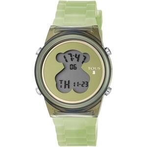 Rellotge D-Bear Fresh de policarbonat amb corretja de silicona verda