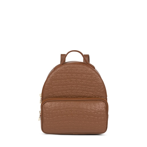 Brown Leather Sherton Backpack