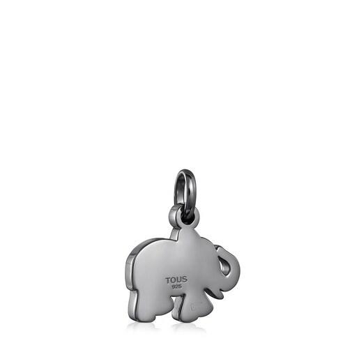 Elefanten-Anhänger Sweet Dolls aus Dark Silver