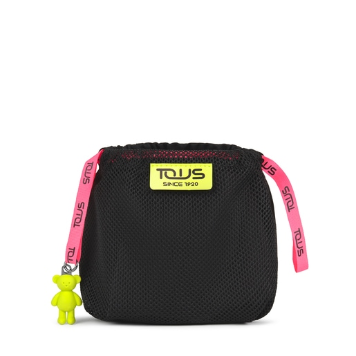 Black and multicolored Ina Pouch bag