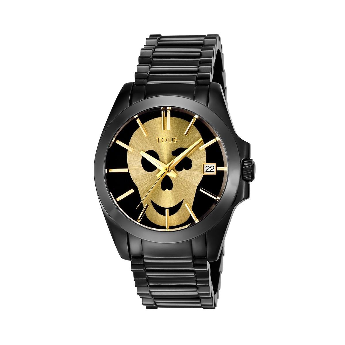 Black IP Steel Drive Watch