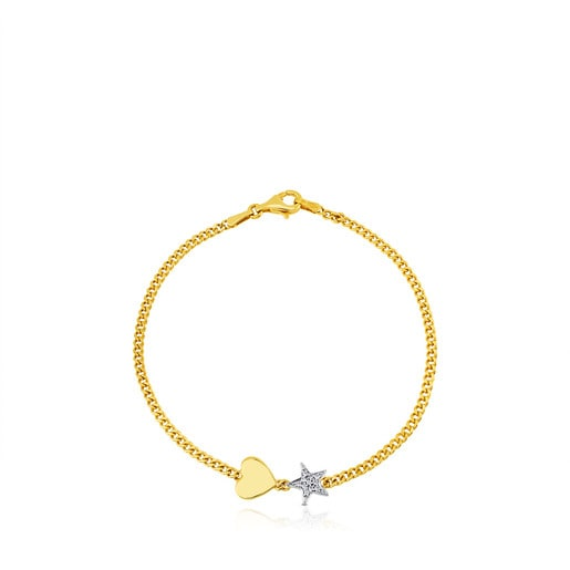Gold New Sweet Dolls Bracelet