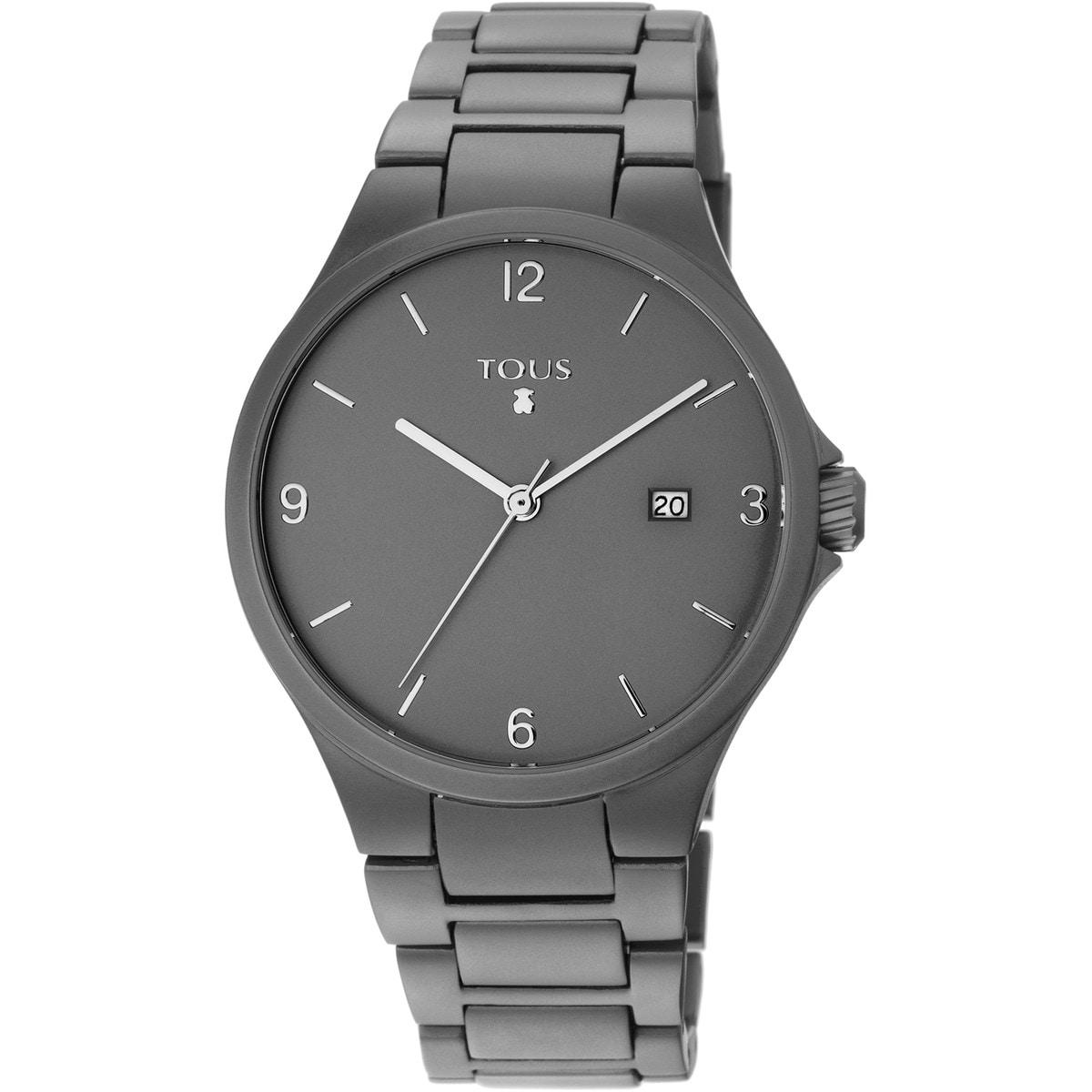 Relógio Motion Aluminio em Alumínio anodizado cinzento