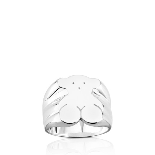 Silver TOUS Sweet Dolls Ring