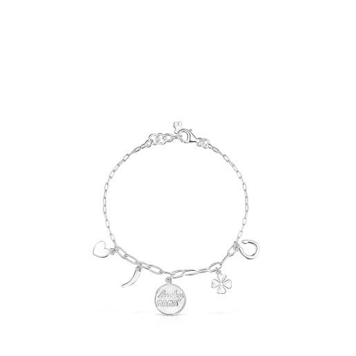 Bracelet TOUS Good Vibes Mama en Argent