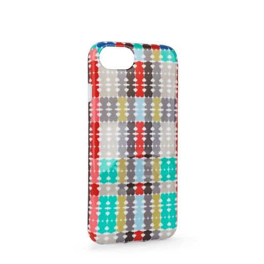 Funda de móvil iPhone 6S/7/8 Tartan Bears