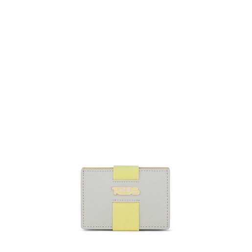 Small silver-yellow New Essence Clutch bag
