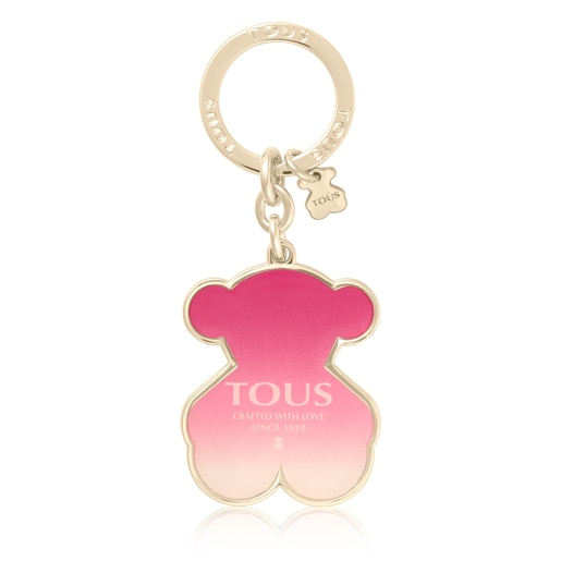 Pink Oso Crafted Key ring