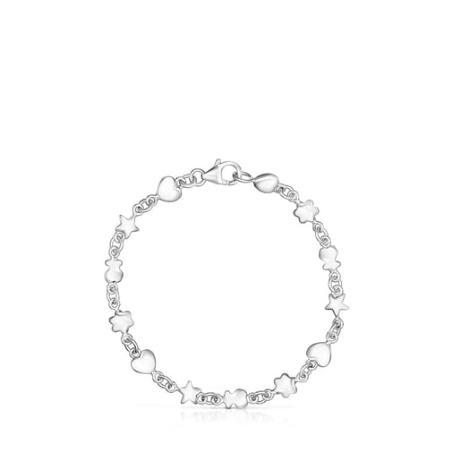 Silver Mini Icons Bracelet