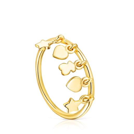 Silver Vermeil Cool Joy Ring