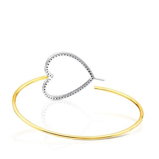 Gold TOUS Diamonds Bracelet - Earrings