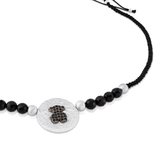 Silver Rupp Bear Necklace