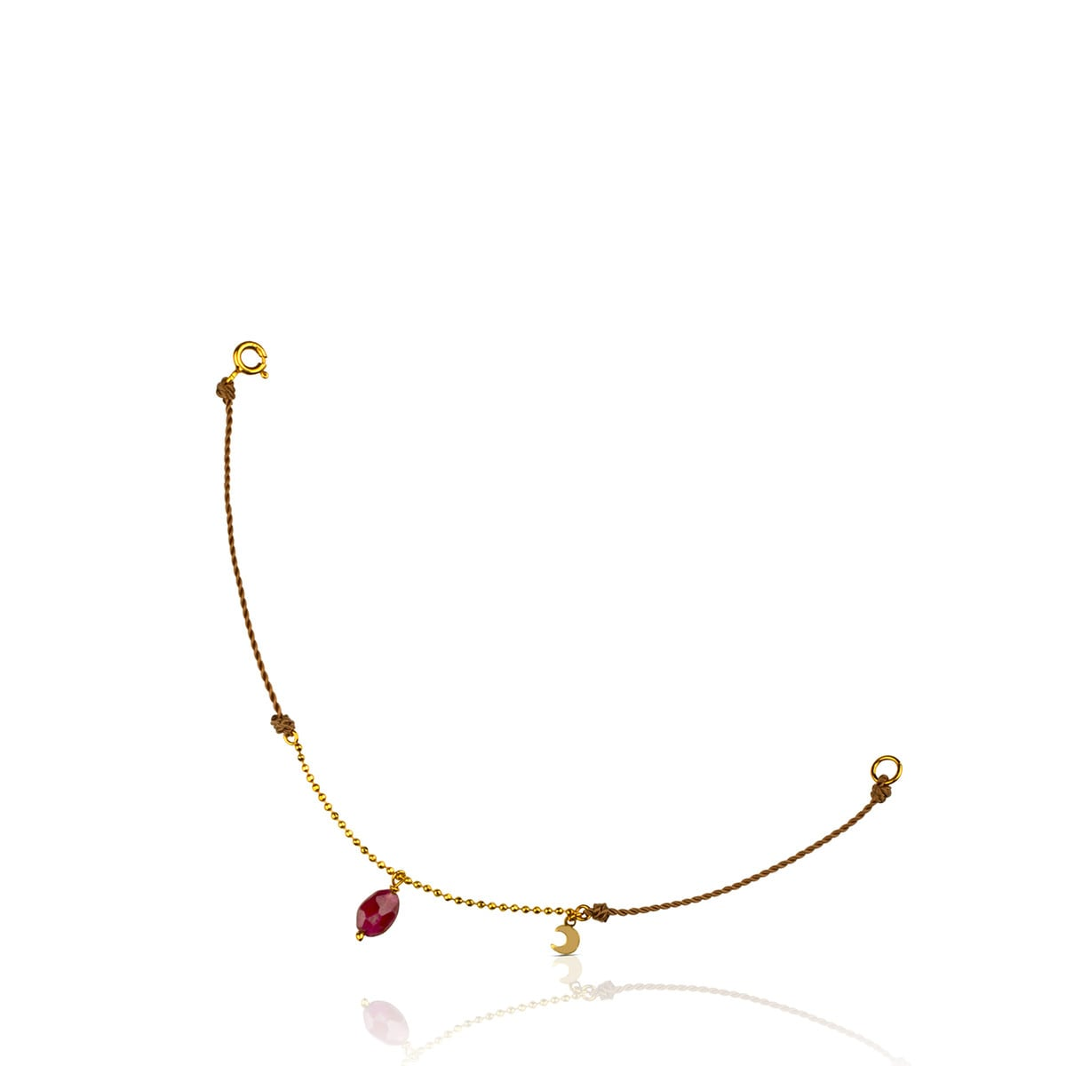 Gold Casualidad Bracelet with Tourmaline