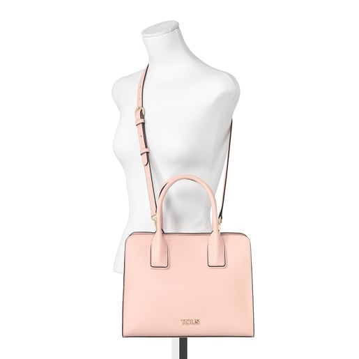 Bolso city mediano TOUS Essential rosa