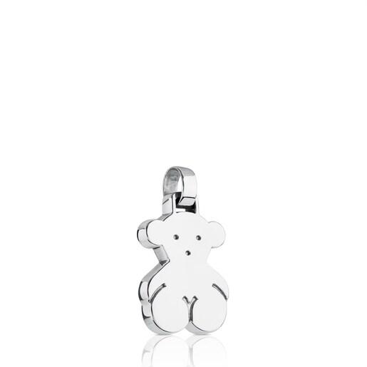 Medium Silver Sweet Dolls bear Pendant