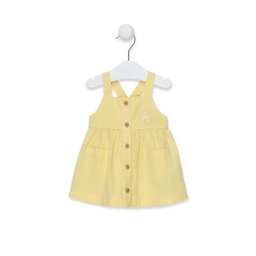 Vestido de tirantes Yellow Amarillo