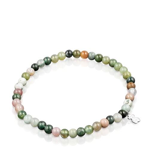 Lot de Bracelets TOUS Good Vibes Mama d'Agates et de Perles