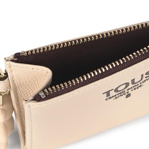 Beige TOUS Pop Change purse-cardholder