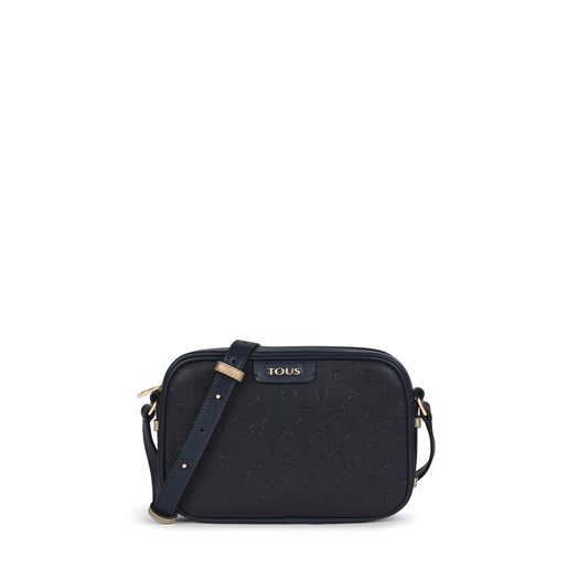 Navy blue Script Day Crossbody bag