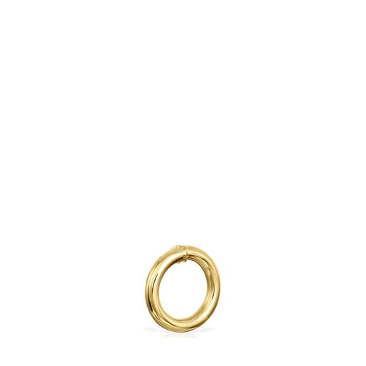 Small Gold Hold Ring