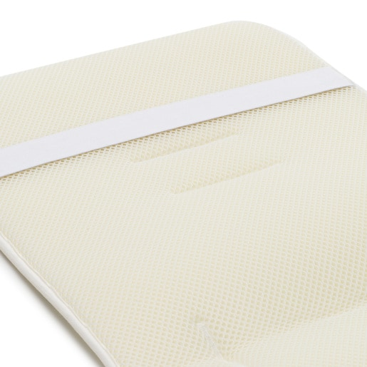 Seat universal cover in sky blue.