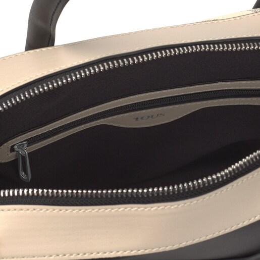 Black and white Kaos Icon Bowling bag